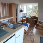 Blick von der Küche in den Wohnraum 18-11-19